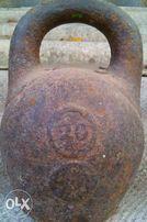 гиря царская 20 фунтов=8,2кг(1 фунт=410грамм)
