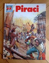 Książka Piraci Jak i co Twarda Oprawa