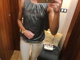 Bluzka elegancka na ramiączka cekiny sylwester S 36 Pretty Girl