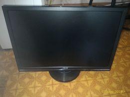 Телевизор +монитор 22` Asus +ТВ приставка Т2 +интернет+IPTV+WiFi+Youtu