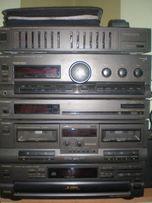 technics, wieża audio, kino domowe, kolumny, głośniki