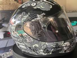 O'Neal Challenger Full Face Helmet  with Cardo Mounting plate