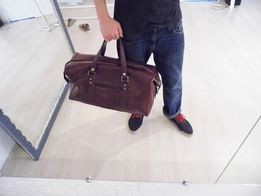 дорожная Сумка эксклюзивная сумка для спорта-саквояж кожаная