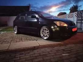 Toyota runx 1.4rs 1 owner