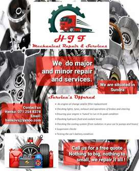 HJF Mechanical repairs & services