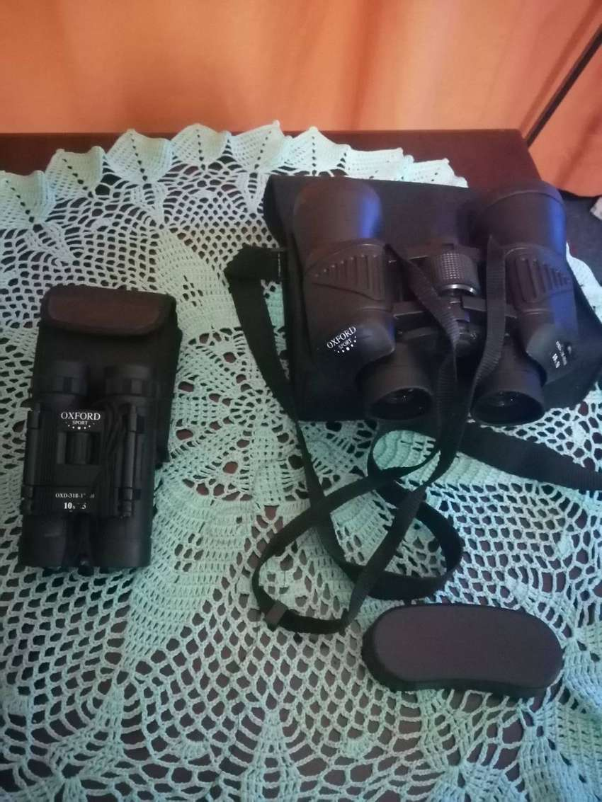 Oxford sport binoculars and camp master tent 0