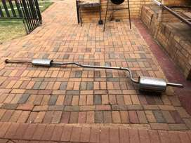 Toyota Tazz Stainless Steel Exhaust