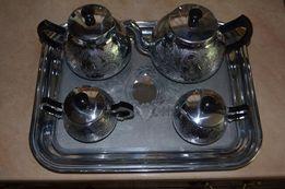 Расписной новый чайно-кофейный набор