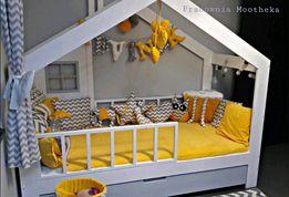 Łóżko drewniane dla dzieci