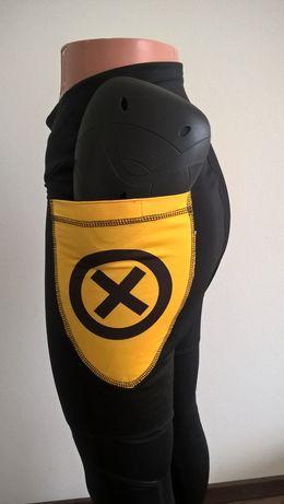 Męskie lub damskie spodnie motocyklowe legginsy z kevlarem pod jeansy Józefów - image 4