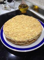 Торт наполеон домашний киев