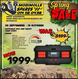 AutoGear 900 AMP Smart Jump Start NOW ONLY R1999 at Modimolle Spares!