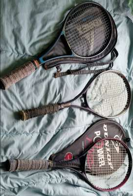 Tennis Rackets various