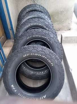 4×265/70/17  BF Goodrich K02 tyres for sale