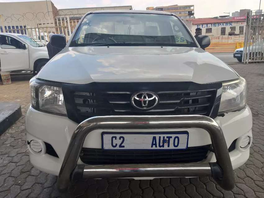2013 Toyota Hilux 2.5 D-4D 4X2 Single Cab 0