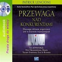 Przewaga nad konkurentami Lencioni/audiobook