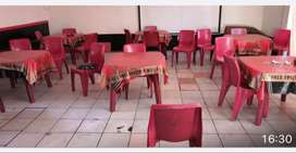 Tables and chairs for sales
