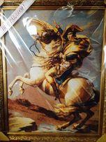 "Картина ""Бонапарт на Сен-Бернарском перевале"""