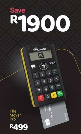Ikhoka Mover Pro Card Payment Machine For Small Businesses R499