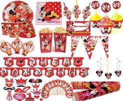 Минни Маус декор на День Рождения на 1 ч. (кенди бар, капкейки, шары)