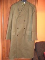 Gruby płaszcz zimowy Khaki 108/185/95 NOWY