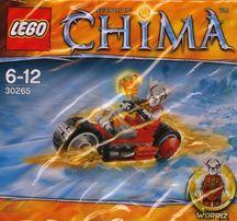 Lego Chima 30265 Worriz Fire Bike Ognisty Motocykl Worriza
