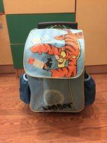 Чемодан рюкзак на колесах детский