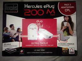 Zestaw adapterów Herkules ePlug 200 Mb s