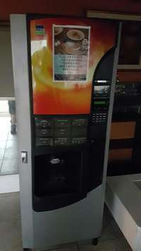 Image of Large coffee coin operated vending machine