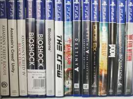 PS4, PS3, Xbox One & Xbox 360 Games from R100 for Sale!