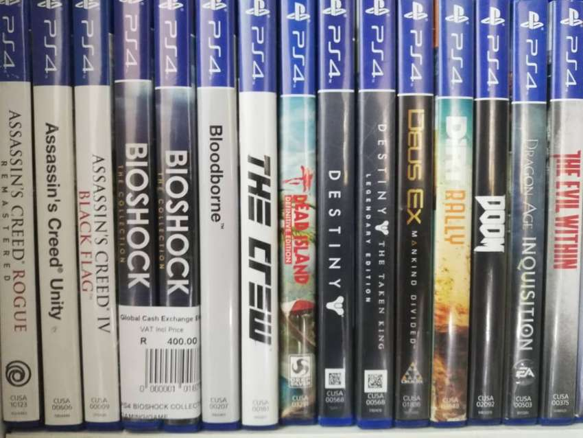 PS4, PS3, Xbox One & Xbox 360 Games from R100 for Sale! 0