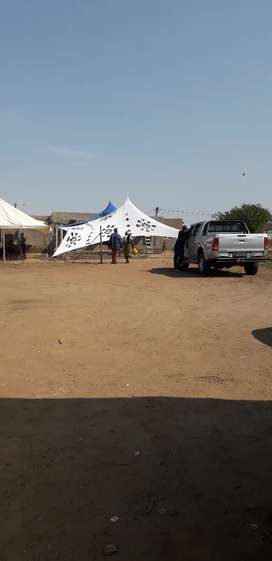 Stretch tent  for hire