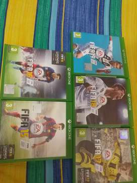Hi i want to sell my fifa collection from fifa 15 till fifa 19