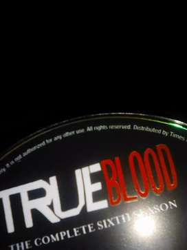 Complete True blood season six DVD set for sale.today only