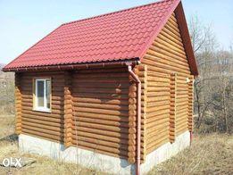 Продается уютный деревянный домик с участком