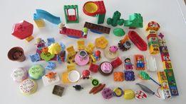 PLAC ZABAW PIKNIK stół krzesło huśtawka bujak zjezdzalnia LEGO DUPLO
