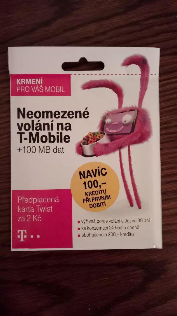 SIM karta T-Mobile 0