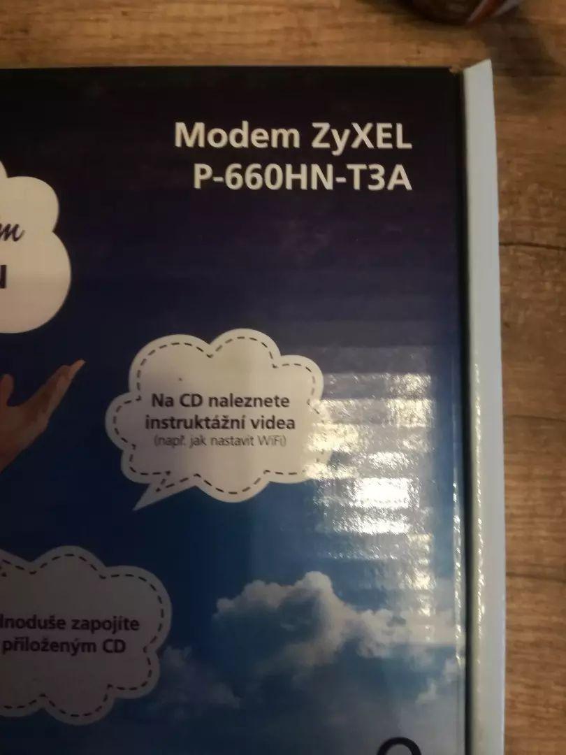 Modem ZyXEL 0