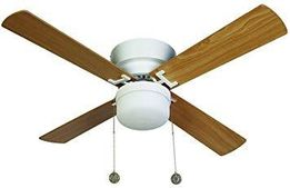 Люстра 'Lucci Air 512106 Nordic Light Integrated 42 White Ceiling Fan