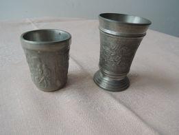 2 kubki cynowe (11) - wyprzedaż kolekcji