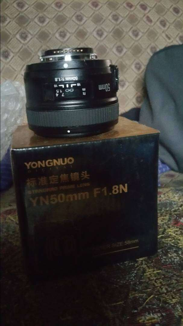 Yungnuo 50mm prime lense fixed focus for Niko DSLR 0