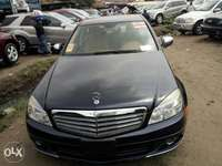 Foreign used 2008 Mercedes-Benz C300. Direct tokunbo 0