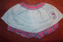 Юбочки джинсовые фирменные на девочку
