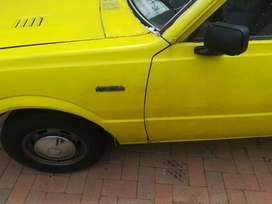 Its a 1,6 litre engine size and body needs work but everything is all