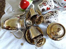 Распродажа!!Набор столовый,сервиз чайный,кофейный,чашки,салатницы