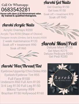 Nail & Beauty therapy at it's best.