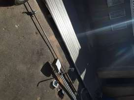 Double garage door with motor and battery backup 100%  working