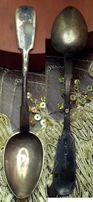 Чайная ложка серебряная - 84
