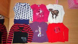 Bluzeczki dla dziewczynki roz. 134-140 cm zestaw