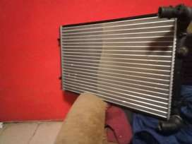 Golf 4 radiator wth new pipes r400